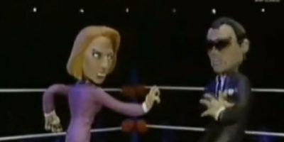 Scully ataca en venganza a Tommy Lee Jones. Foto:vía MTV