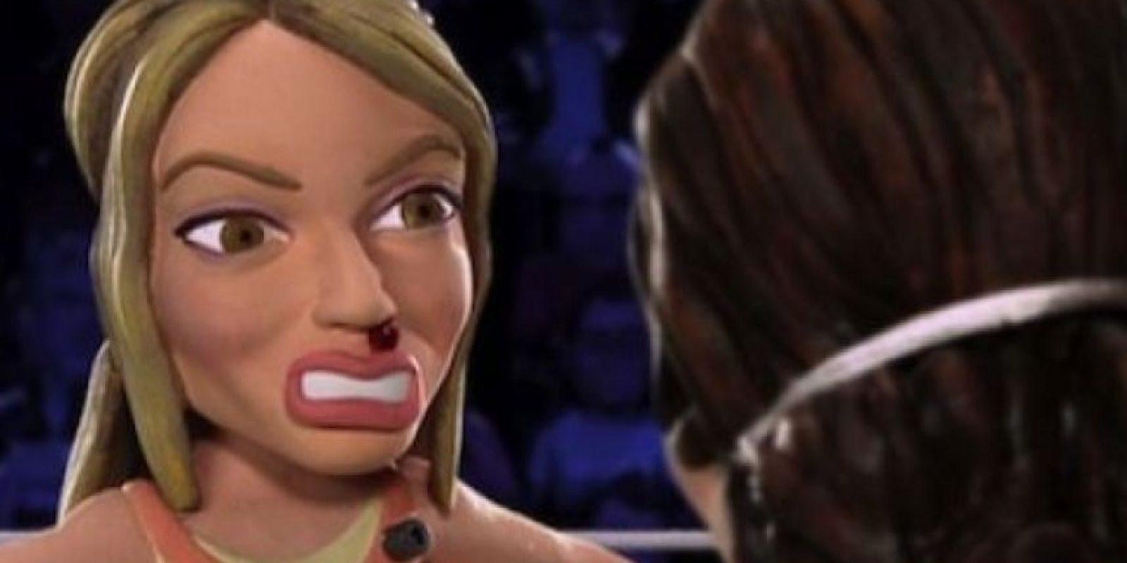 """Hasta que """"Dios"""" ayuda a Hilary y esta emborracha a Lohan. Foto:vía MTV"""