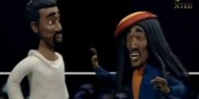 Bob Marley Pelea contra Shaggy. Foto:vía MTV