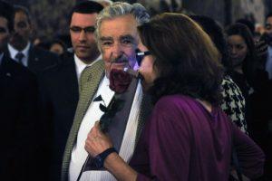 También asistió José Mujica, ex presidente de Uruguay Foto:AFP