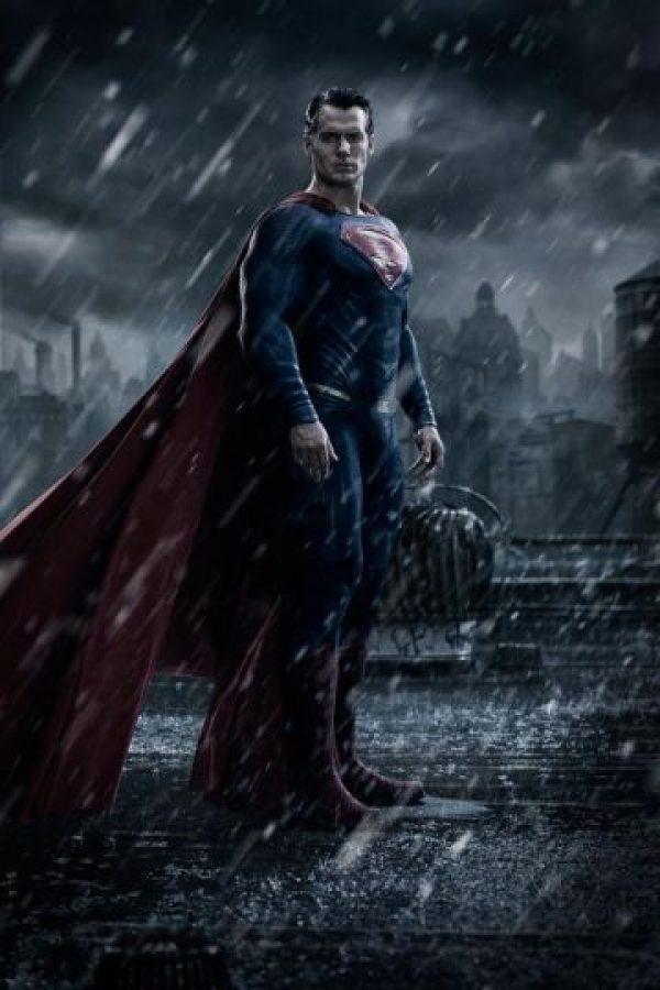 """Henry Cvill como """"Suoerman"""" Foto:Vía Facebook.com/batmanvsuperman"""