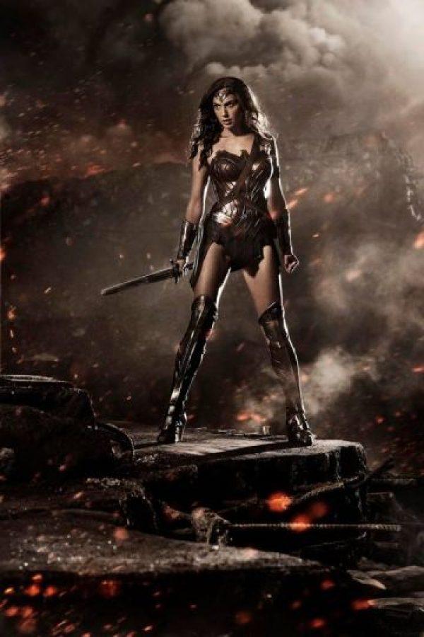 """Gal Gadot como """"Superwoman"""". Foto:Vía Facebook.com/batmanvsuperman"""