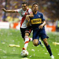 Boca Juniors y River Plate se enfrentarán en un plano internacional: en los octavos de final de la Copa Libertadores. Foto:Getty Images