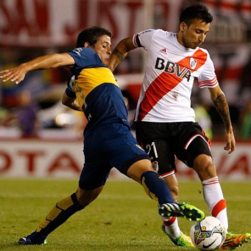 En ella, River eliminó a Boca con un marcador 1-0 global. Foto:Getty Images