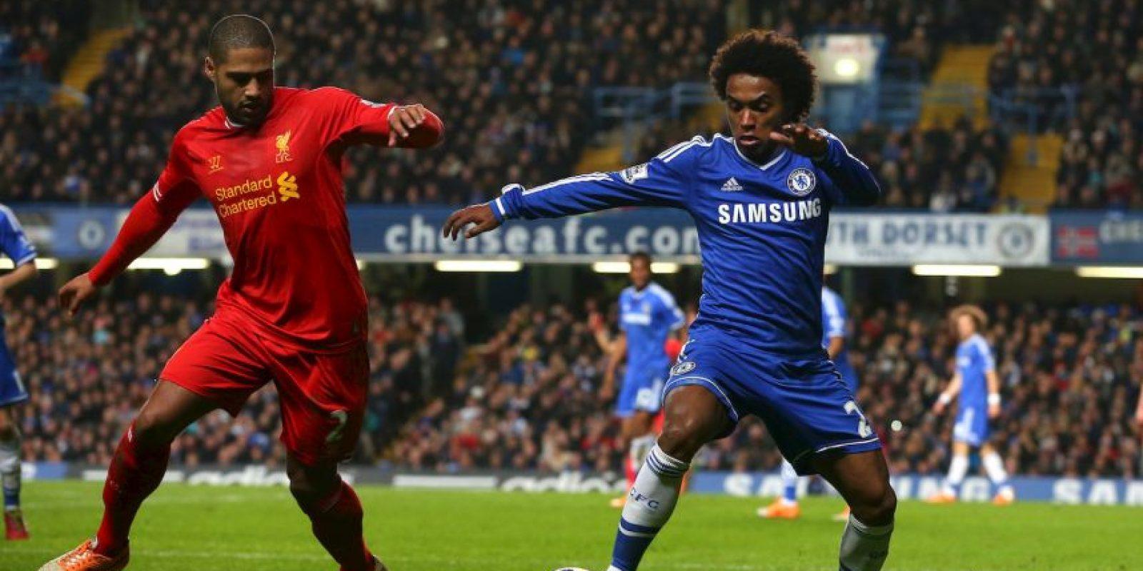 Entre los partidos con más tendencia para los comentarios violentos en las redes sociales en esta liga se encuentran: Chelsea vs. Liverpool Foto:Getty Images