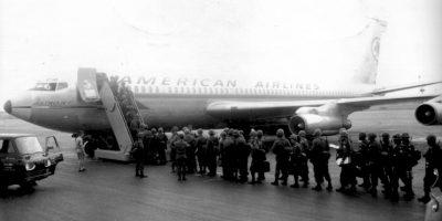 1 de marzo. Se estrella el vuelo 1 de American Airlines. El avión Boeing 707 se impactó en el aeropuerto de Nueva York. Murieron los 95 pasajeros. Foto:Wikimedia.org