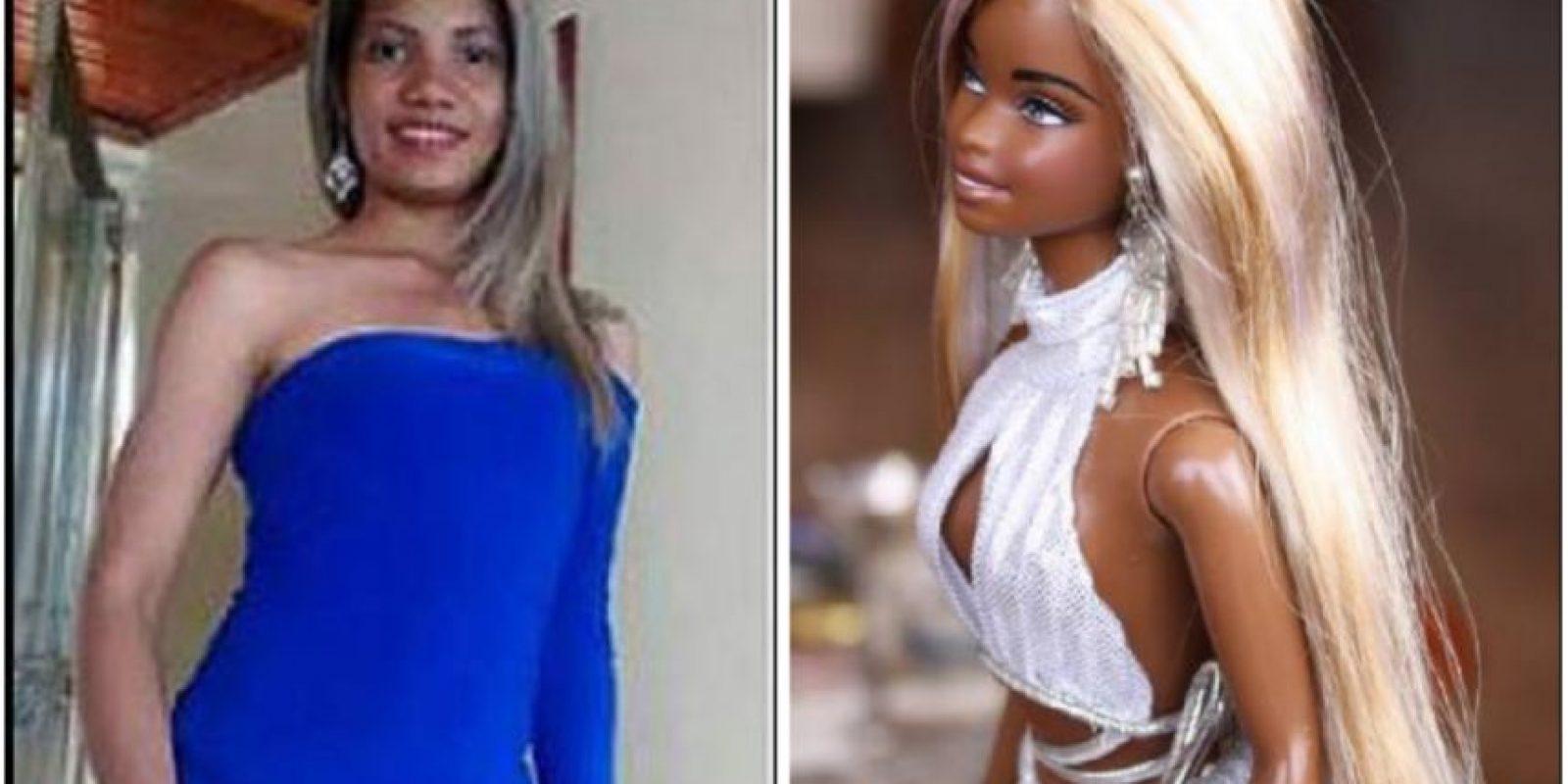Chelsy Ditta Meza, la 'Barbie morena'