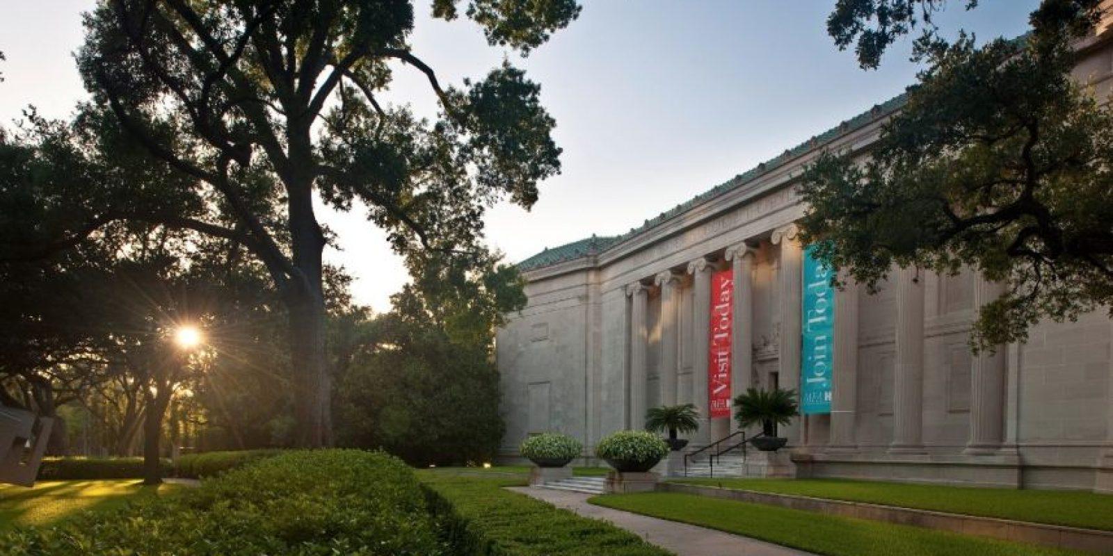 The Museum of Fine Arts – Houston, Estados Unidos. Foto:facebook.com/mfah.org