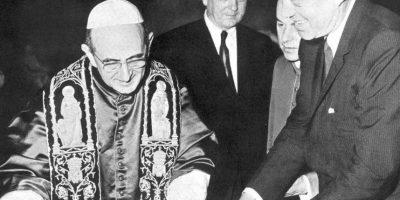 11 de octubre: Concilio Vaticano II: El Papa Juan XXIII realiza el primer concilio ecuménico en 92 años. Foto:Wikimedia.org