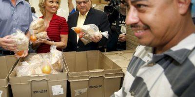 El objetivo es promocionar un programa de alimentación vegetariana para los reclusos. Foto:AP