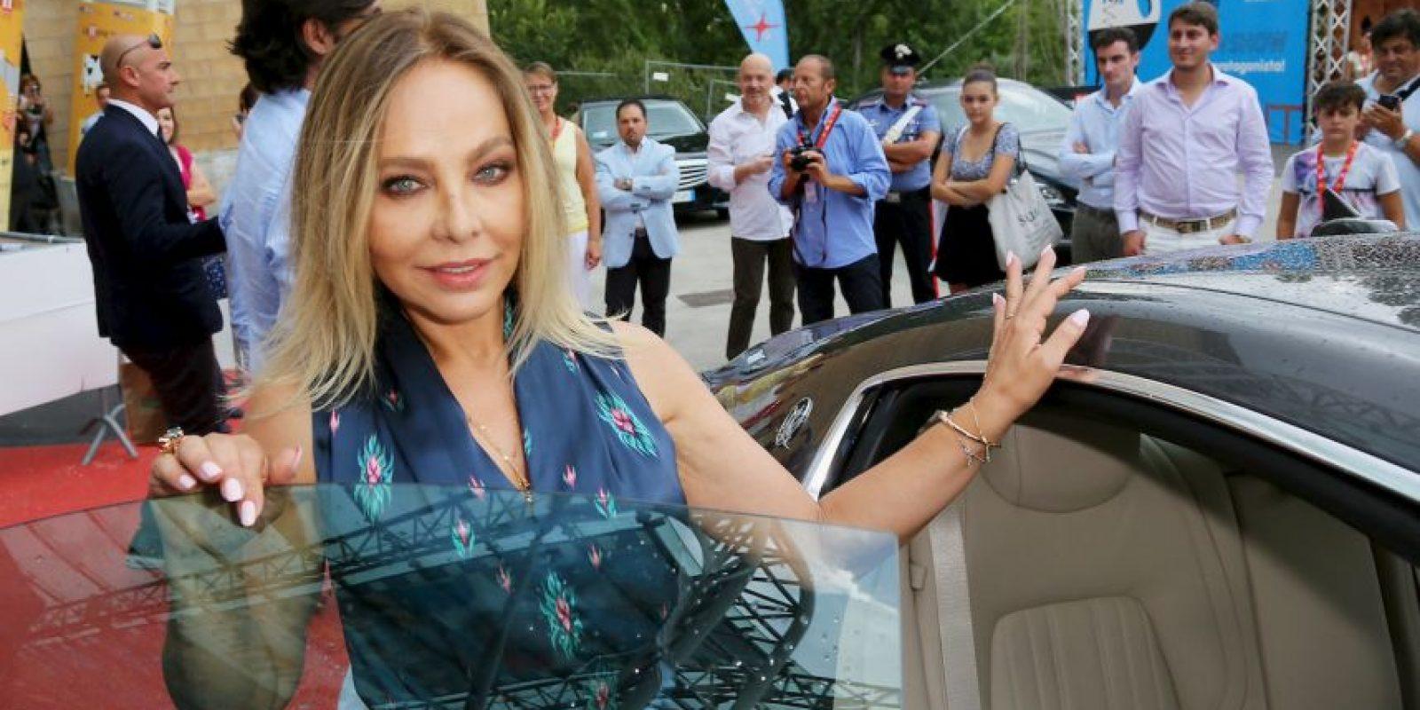 Ornella Muti encarnó a Ángela Vicario Foto:Getty Images