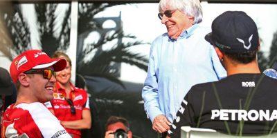 Con Sebastian Vettel también tiene una rivalidad, pero menor. Hamilton hizo público lo que opinaba del amplio dominio del alemán que ganó cuatro títulos de 2010 a 2013 y le envió un mensaje. Foto:Getty Images