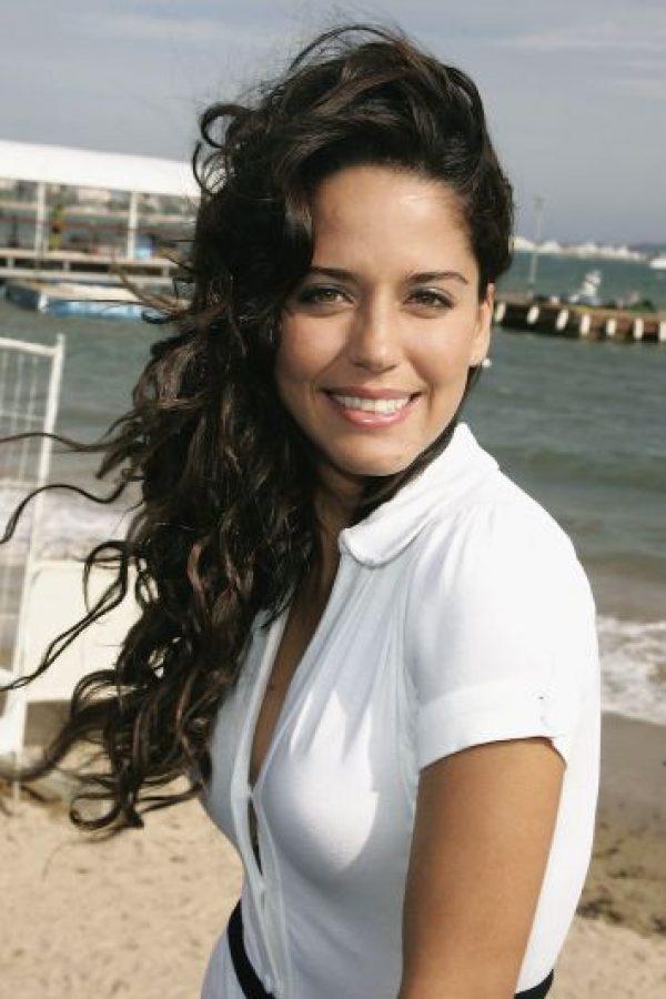 Ana Claudia Talancón interpretó a Olimpia Zuleta. Foto:Getty Images