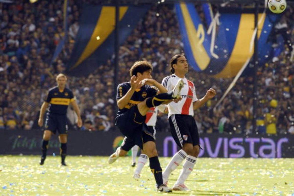 13. 05 de agosto de 1982: Boca Juniors 0-0 River Plate Foto: Getty Images