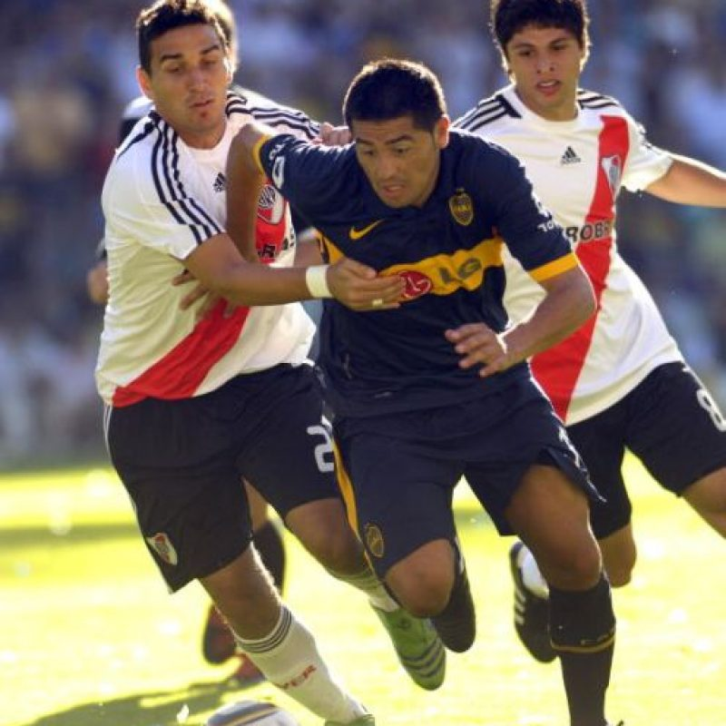 20. 24 de mayo de 2000: Boca Juniors 3-0 River Plate Foto: Getty Images