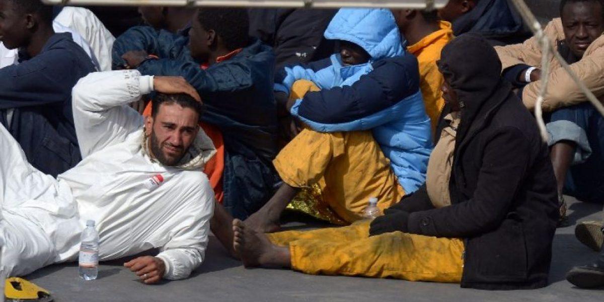 VIDEO: Se hunde otro barco con 300 migrantes en el Mediterráneo
