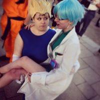 Vegeta y Bulma Foto:Instagram.com/amy_sabaku