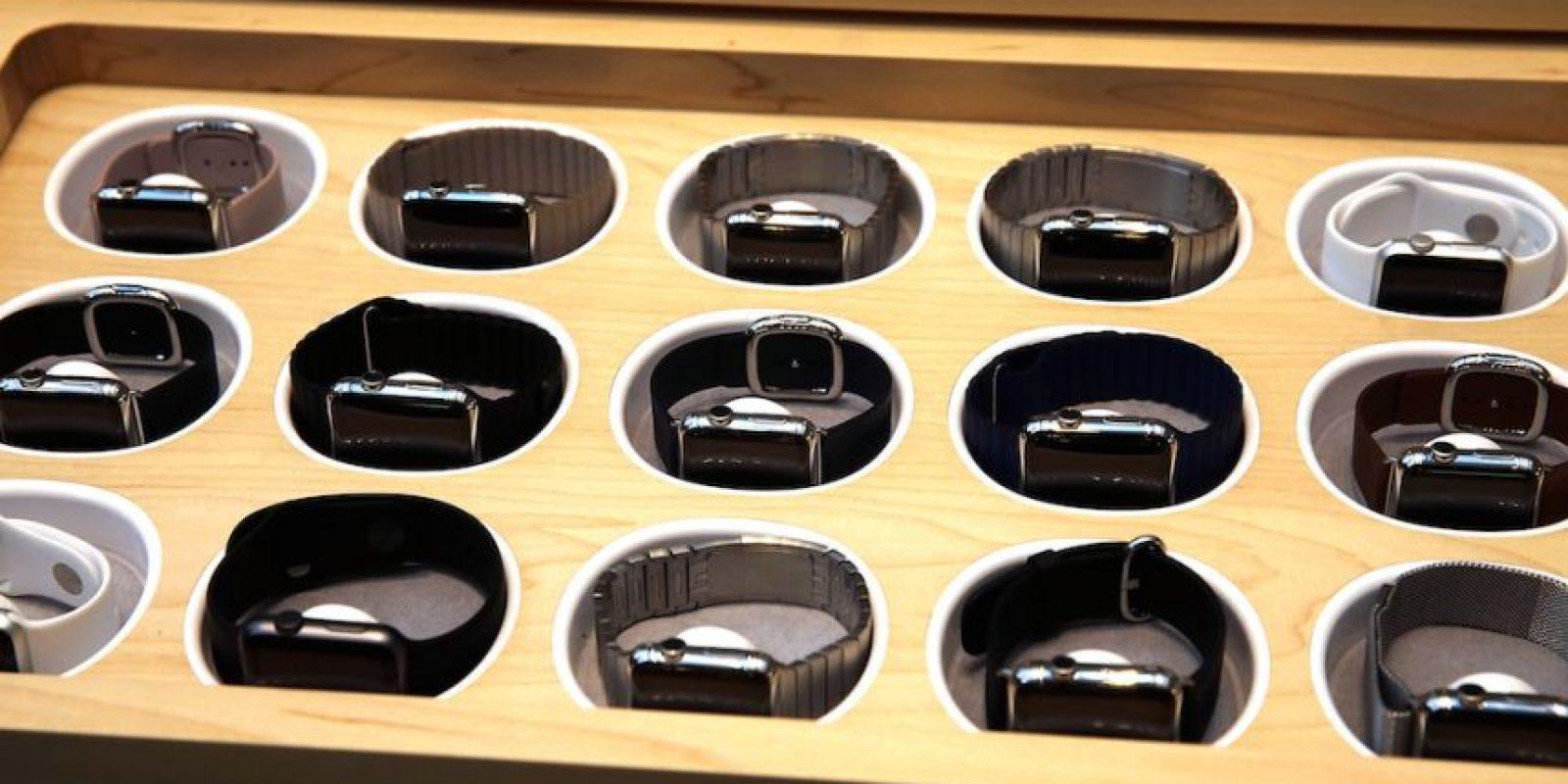 7) Solo se pueden comprar dos relojes por persona. Foto:Getty Images