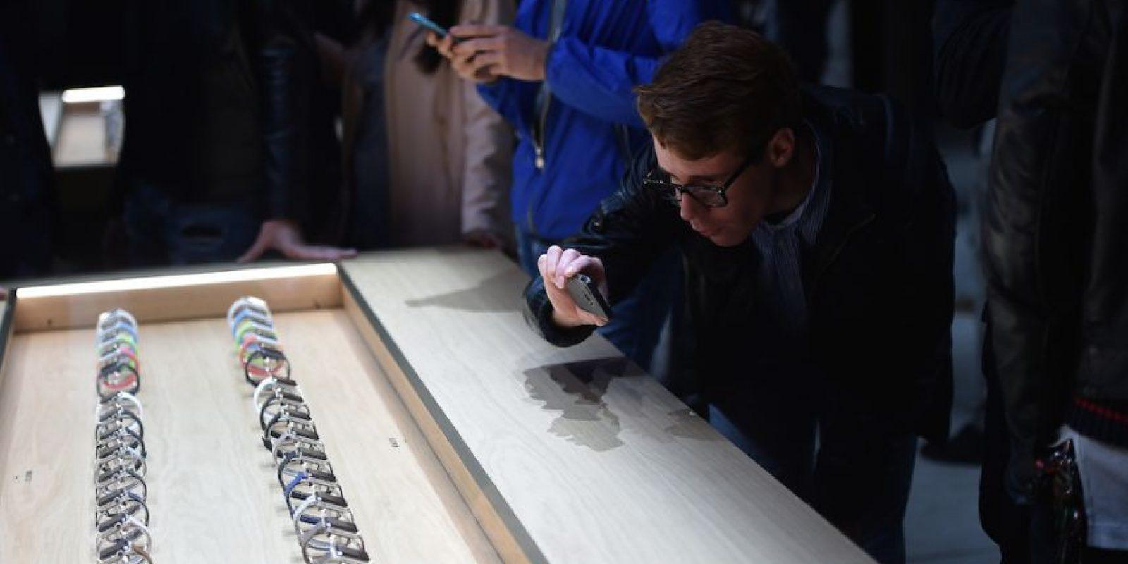 Apple Watch, Apple Watch Sport y Apple Watch Edition son los modelos disponibles. Foto:Getty Images