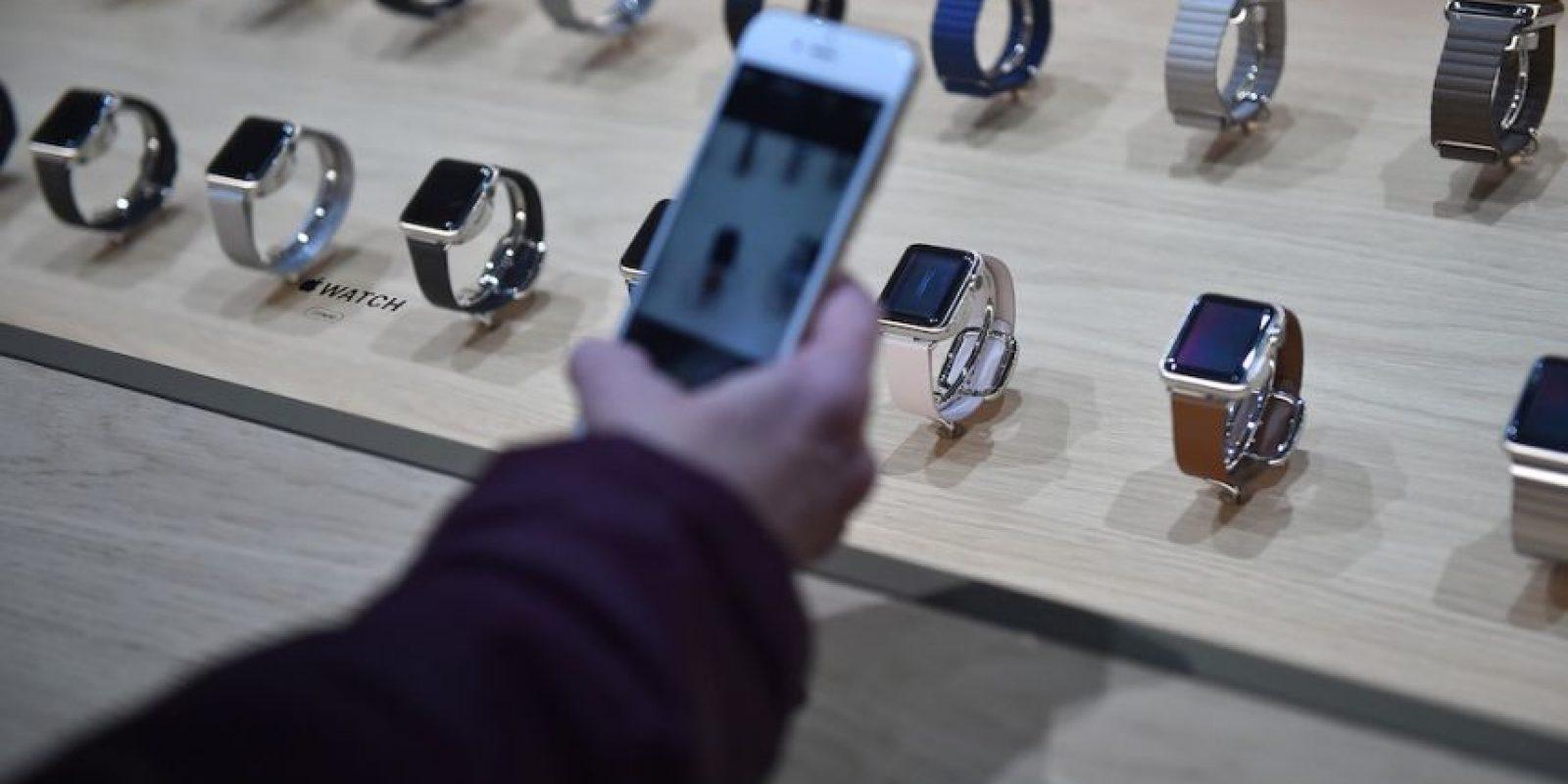 El precio del Apple Watch Edition comienza en 10 mil dólares. Foto:Getty Images