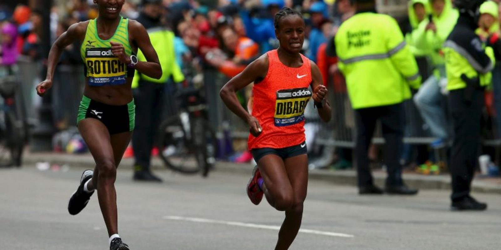 La carrera se corre desde Hopkinton a Boston. Foto: Getty Images