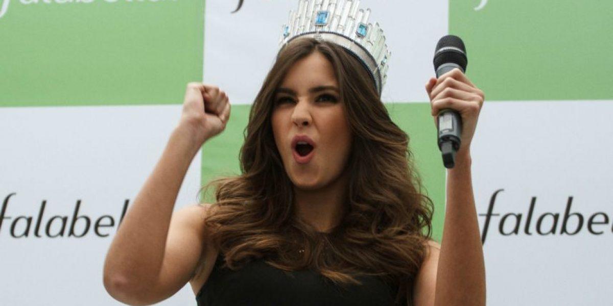 Así fue la primera visita de Paulina Vega a Colombia como Miss Universo