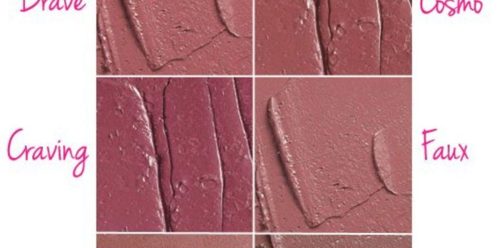 Primero que todo, elijan un color que se ajuste a ustedes. Estos son los que usa Kylie Jenner de la marca MAC Cosmetics. Foto:vía Temptalia