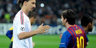 Mucho se rumoró que el argentino fue una de las principales causas por las cuales Zlatan salió del Barcelona. Foto:Getty Images