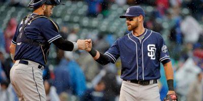 Los Padres se llevaron la serie con 2 victorias y una derrota ante los Cubs. Foto:Getty Images