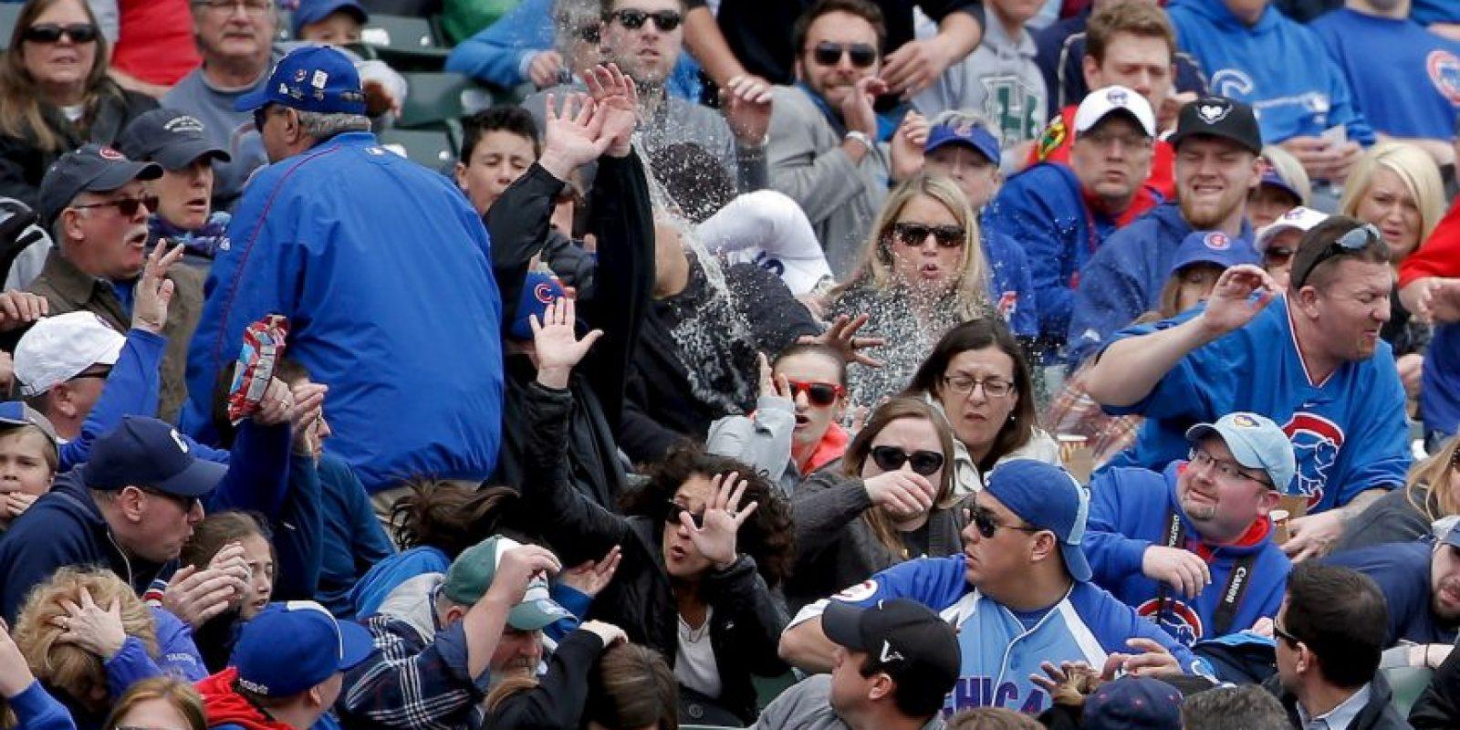Fue durante el juego entre los Cubs de Chicago y los Padres de San Diego de la MLB. Foto:Getty Images