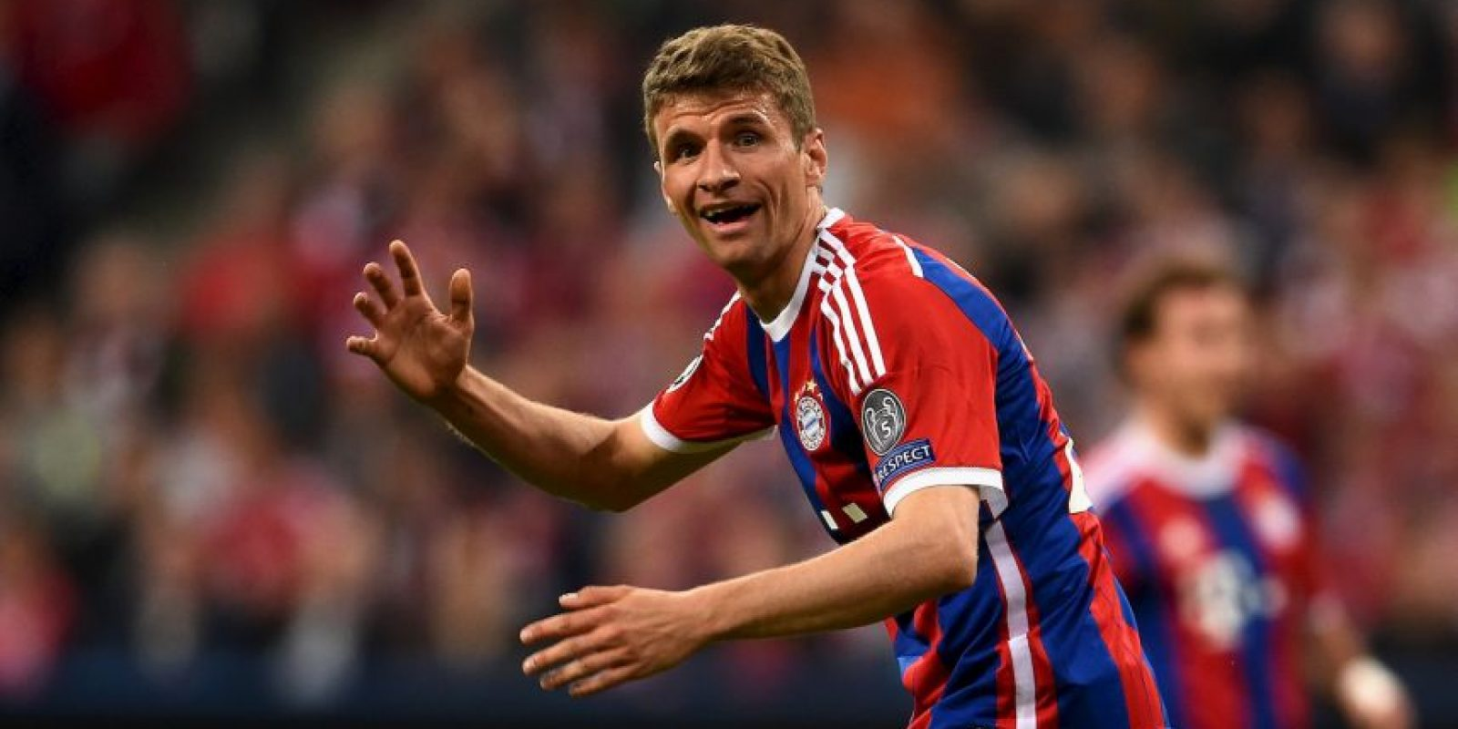 Thomas Müller hizo el cuarto al 36′ Foto:Getty Images