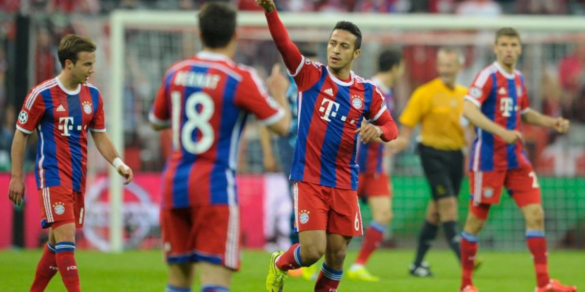 FOTOS: Así festejaron los futbolistas del Bayern Múnich la remontada en Champions