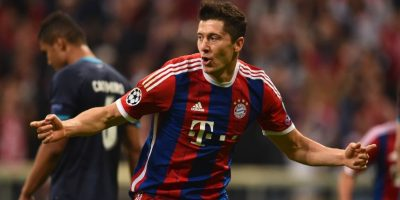 Lewandowski volvió a marcar al minuto 40 Foto: Getty Images