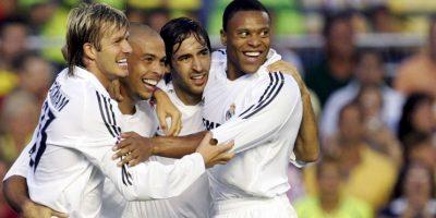 """Con el Real Madrid jugó 177 partidos. Fue parte de la generación de """"Galácticos"""" de la primera etapa de Florentino Pérez al frente del club. Foto:Getty Images"""