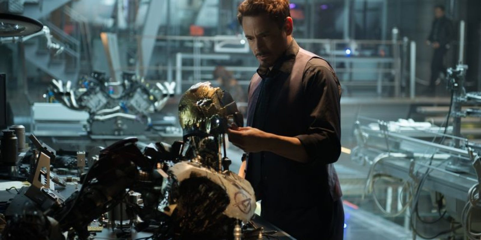 Tony Stark (Robert Downey Jr.) Foto:Cortesía