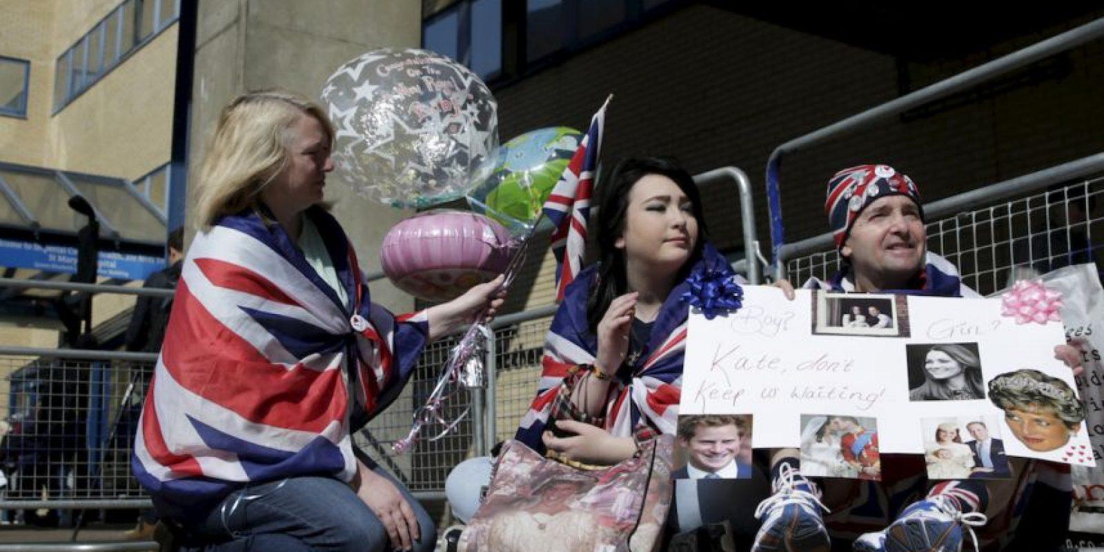 2. En cualquier momento Kate Middleton puede entrar en labores de parto. Foto:AP