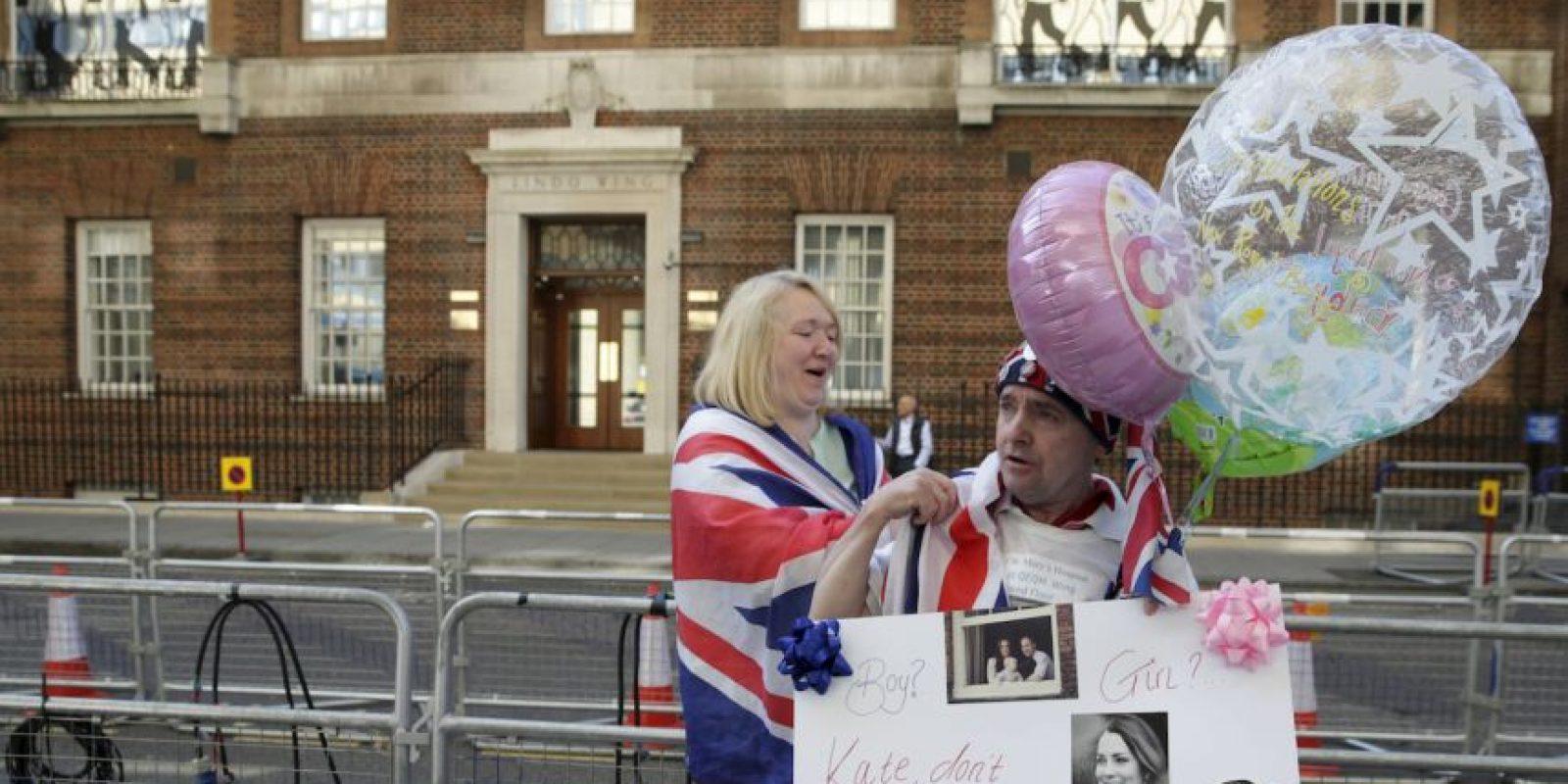 1. El sexo del segundo bebé real no ha sido revelado. Foto:AP