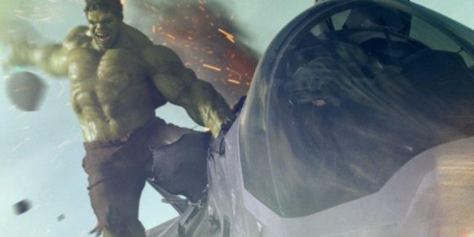 """Mark Ruffalo es """"Hulk"""" Foto:IMDb"""