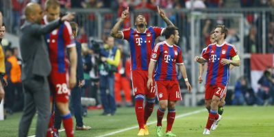 Jerome Boateng marcó la segunda anotación que le daba al Bayern su pase a semis Foto:Getty Images