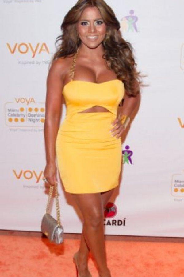 Maripily es la diva puertorriqueña que se caracteriza por sus vestidos ajustados. Foto:vía Getty Images