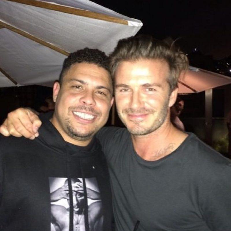 El delantero brasileño es considerado uno de los mejores futbolistas de la historia. Foto:Vía instagram.com/ronaldolima