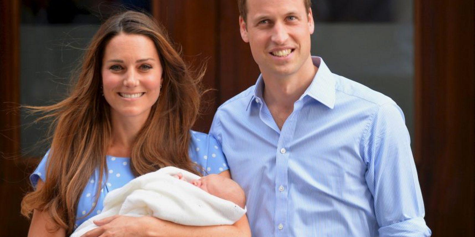1. El sexo del bebé no se ha revelado. Foto:AFP