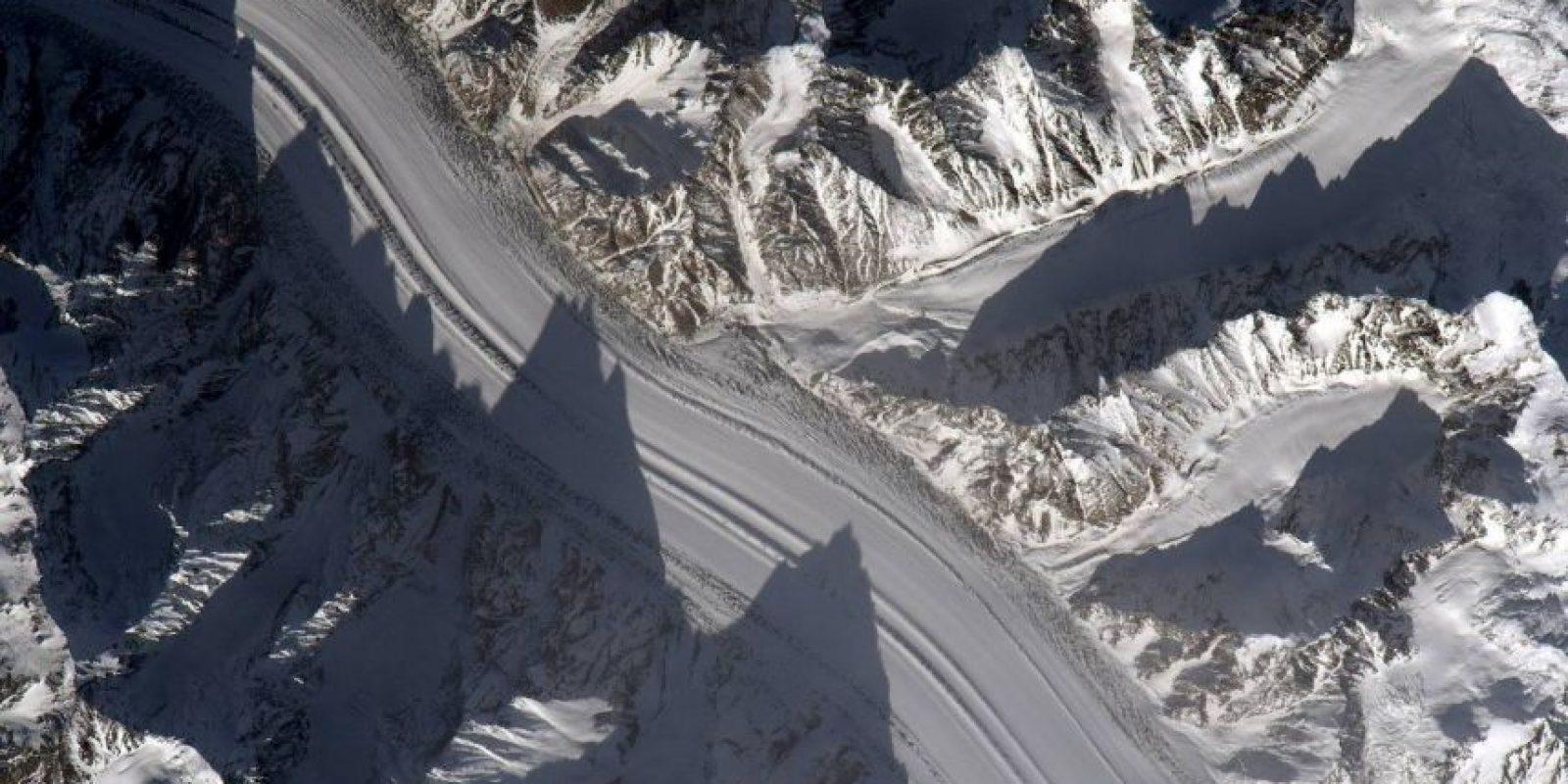 Así luce Tajikistán, en Asia Central Foto:Facebook.com/pages/NASA-Astronaut-Scott-Kelly