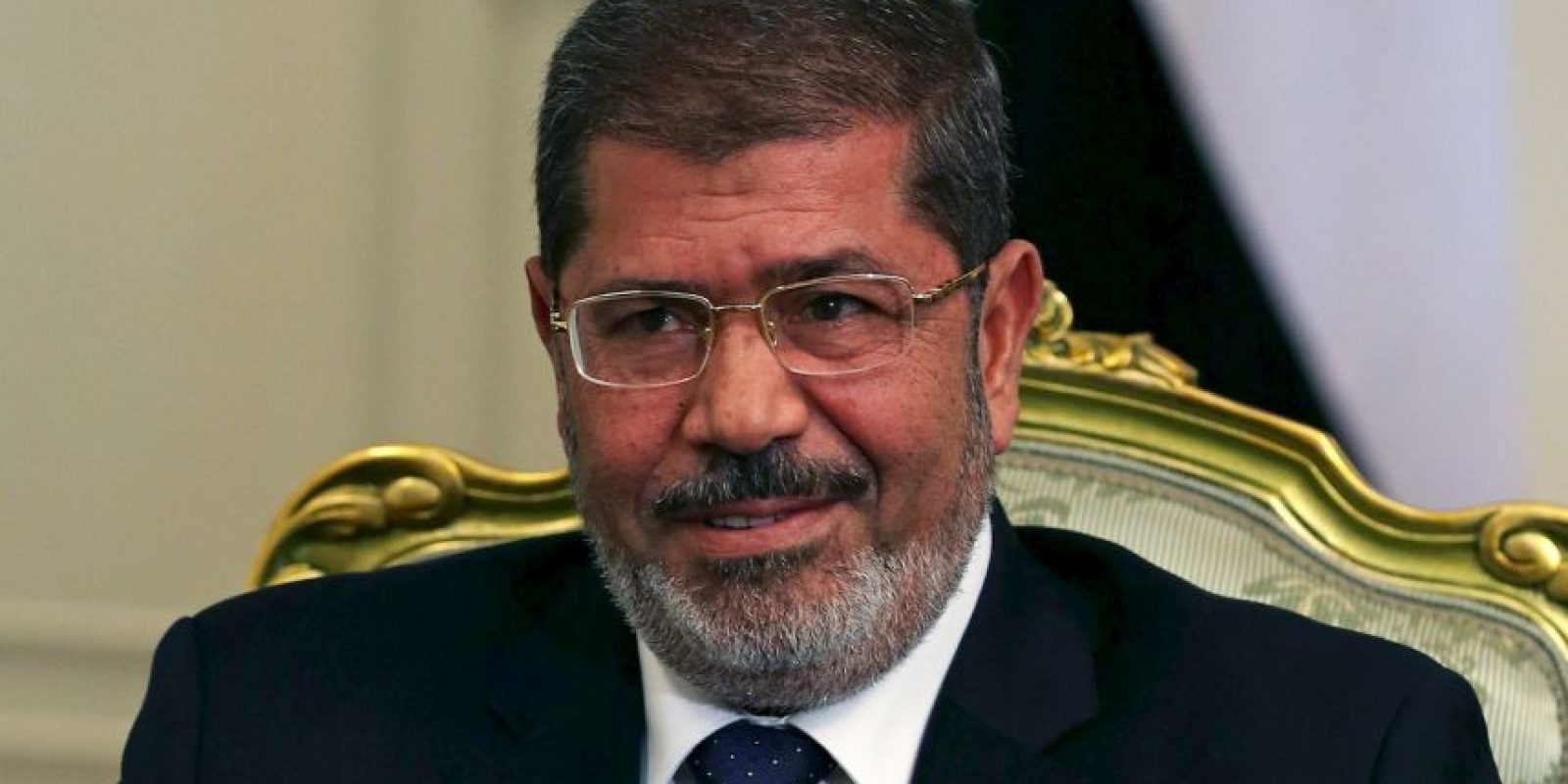 Fue el primer líder del país en ser electo y que llegó al poder un año después de la revolución egipcia de 2011. Foto:Getty Images