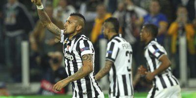 El gol fue marcado por Arturo Vidal Foto:Getty Images