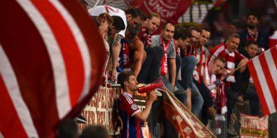 "Jackson Martínez anotó el ""gol de la honra"" para los portugueses. Foto:Getty Images"