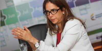 La minsitra de educación Gina Parody rechazó la protesta de maestros y aseguró que no habrá diálogo durante el cese de actividades Foto:Juan Pablo Pino-Publimetro