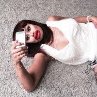 Exnovia de Tyga no aguantó las ganas de burlarse de Kylie Foto:Instagram/blacchyna