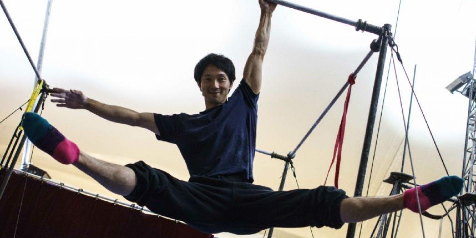 Hideto Okuzawa hace parte de Corteo, el show del Circo del sol que se presenta en Bogotá. Foto:Juan Pablo Pino / Publimetro
