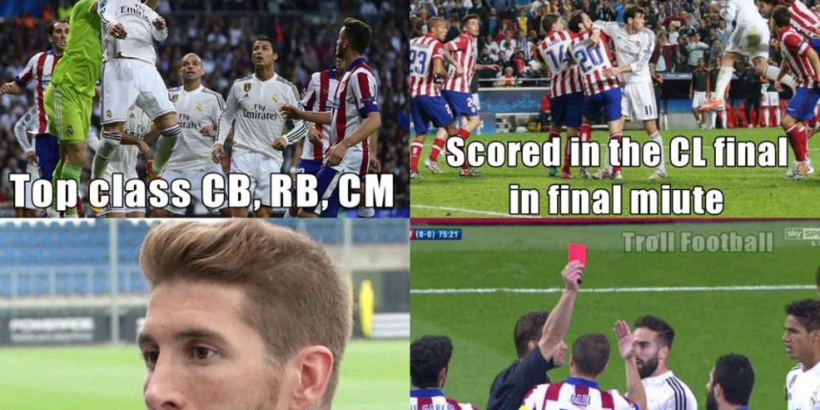 Sergio Ramos se llevó los aplausos del madridismo por provocar la expulsión de Arda Turán. Foto:Vía Twitter